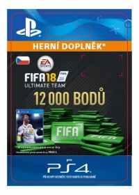 CZ PS4 - 12000 FIFA 18 Points Pack