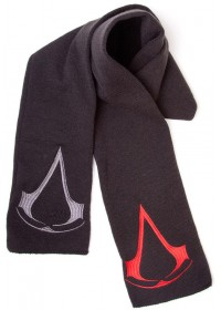 ASSASSINS CREED - SCARF WITH 2 LOGOS