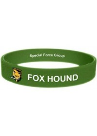 METAL GEAR SOLID FOX HOUND SILICONE WRISTBAND (GE2062)