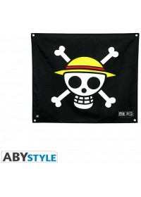 ONE PIECE - SKULL LUFFY FLAG (50X60) (ABYDCT001)