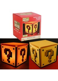 SUPER MARIO BROS. - QUESTION BLOCK LIGHT WITH SOUNDS (PP2929NN)