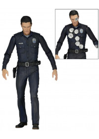 TERMINATOR GENYSIS - T1000 POLICE DISGUISE ACTION FIGURE (18cm)