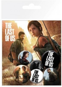 THE LAST OF US PIN BADGE PACK (6 PINS)