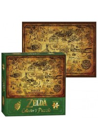 THE LEGEND OF ZELDA - HYRULE MAP COLLECTOR'S PUZZLE (550pcs)
