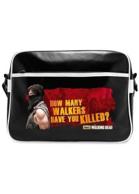 THE WALKING DEAD - DARYL - WALKERS VINYL MESSENGER BAG (ABYBAG139)
