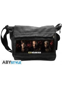 THE WALKING DEAD - RICK, DARYL  MICHONNE MESSENGER BAG (ABYBAG120)