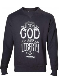 UNCHARTED 4 - FOR GOD AND LIBERTY SWEATER - SIZE L (SW302030UNC-L)
