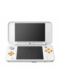 New Nintendo 2DS XL White &amp, Orange