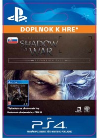 SK PS4 -Middle-earth™: Shadow of War™ Expansion Pass