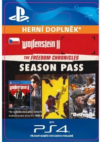 SK PS4 - Wolfenstein® II: The Freedom Chronicles Season Pass
