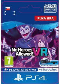 SK PS4 - No Heroes Allowed!™ VR