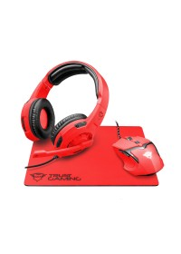TRUST GXT790-SB Spectra Gaming Bundle - red