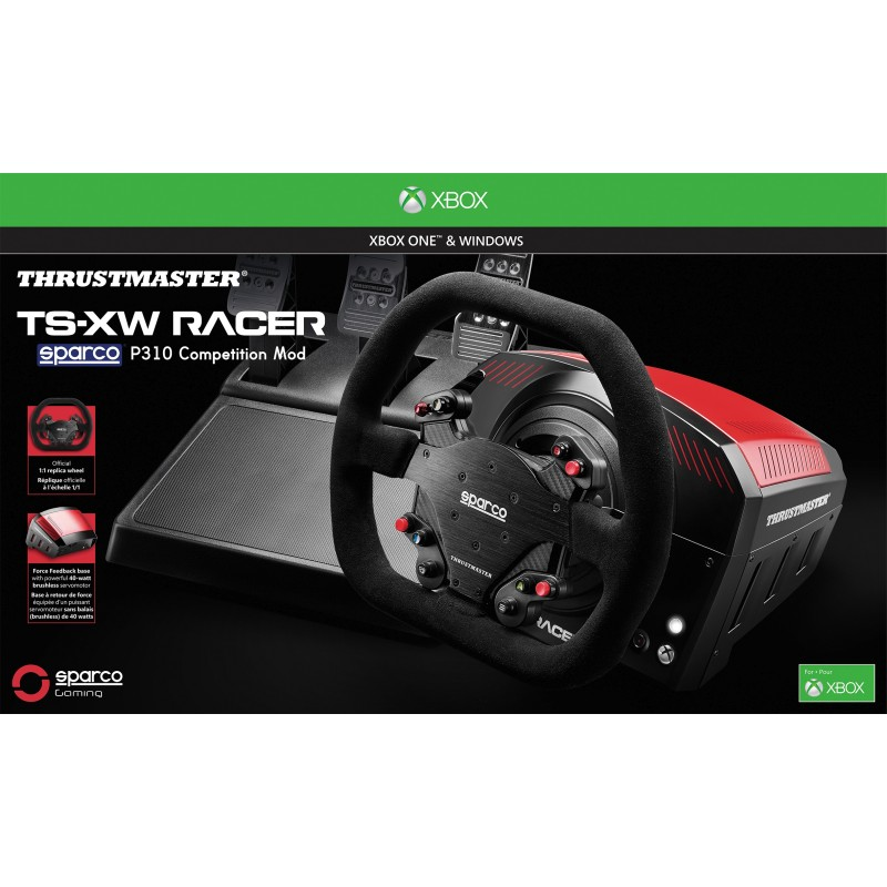 thrustmaster ts xw racer sparco pre xbox one a pc gamescenter. Black Bedroom Furniture Sets. Home Design Ideas