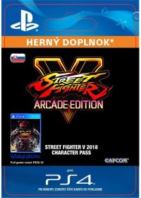 SK PS4 - STREET FIGHTER V Season 3 Character Pass (16.1.2018)