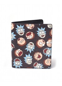 Rick and Morty - All Over Print Bifold Wallet (MW081212RMT)