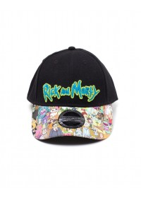 Rick and Morty - Sublimated Print Curved Bill Cap (BA326420RMT)