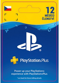 CZ PS4 - PlayStation Plus: 1 Year Subscription - 25% Off 2.-22.3