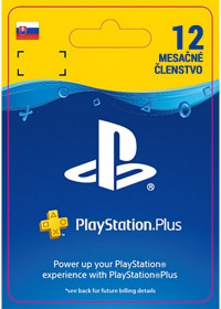 SK PS4 - PlayStation Plus: 1 Year Subscription - 25% Off 2.-22.3.