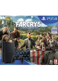 PlayStation 4 Slim, 500GB + Far Cry 5 CZ
