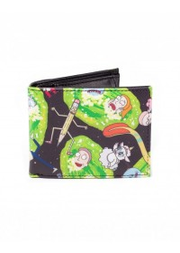 Rick and Morty -  Characters AOP Bifold Wallet (MW684500RMT)