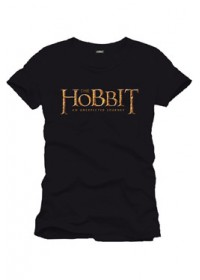 Tričko The Hobbit Logo - black
