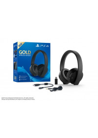 PS4 GOLD Wireless 7.1 headset, čierne
