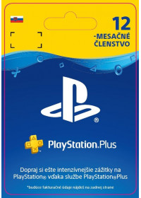 SK PS4 - PlayStation Plus 12 Month Membership