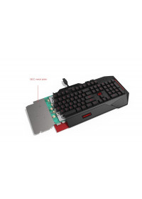 ASUS Hard bundle CERBERUS COMBO keyboard CZ layout + Cerberus headset V2 RED