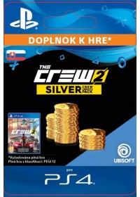 SK PS4 - The Crew 2 Silver Crew Credits Pack