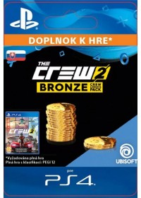 SK PS4 -  The Crew 2 Bronze Crew Credits Pack