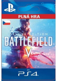 CZ PS4 - Battlefield™ V Deluxe Edition