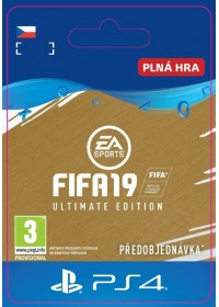 CZ PS4 - FIFA 19 Ultimate Edition