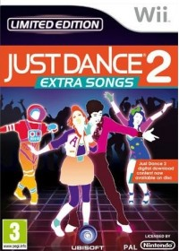 Wii Just Dance 2 EXTRA SONGS limited edition
