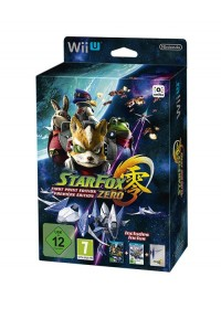 WiiU Star Fox Zero First Print Edition